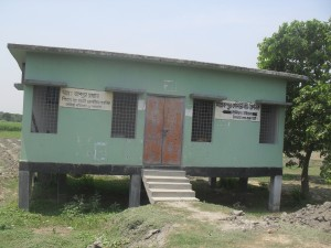 This  was a community clinic I visited in Rajshahi