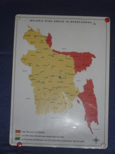 Malaria high risk areas